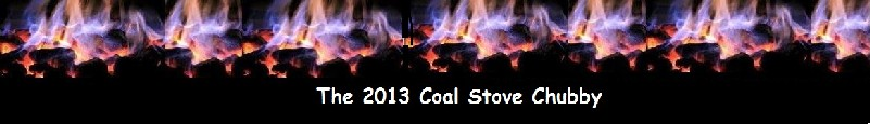 Coal Stove Flames