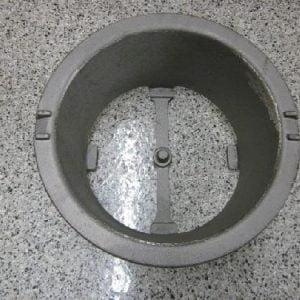 Center Pin Fire Pot