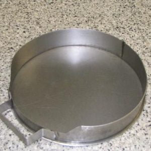 Round replacement ash pan