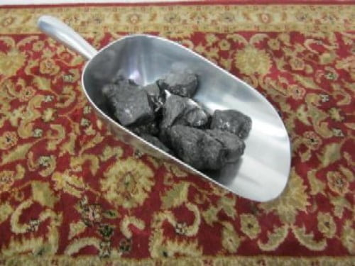 56 oz. Aluminum coal scoop