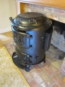 Chubby Stove with Rear Vent
