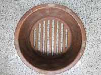 #1 No movable bottom single piece pot