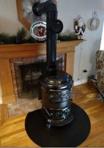 Chubby Stove with Top Vent Blower
