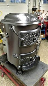 Reconditioned Chubby Stove