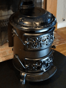 Top Vent Chubby Coal Stove